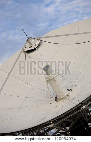 Close-up of a satellite dish
