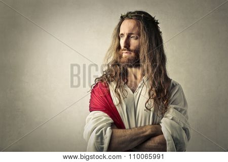 Jesus thinking