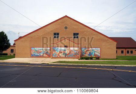 Wesmere Elementary School Murals