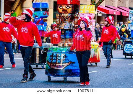 Thanksgiving Macy Parade 2015