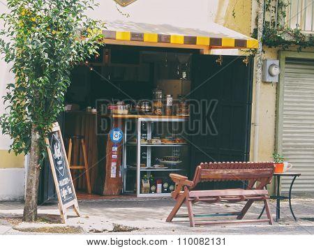 Small coffee shop