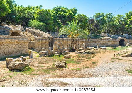 The Walls Of Amphitheatre