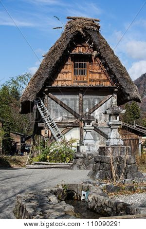 The Japanese Ancient Hut