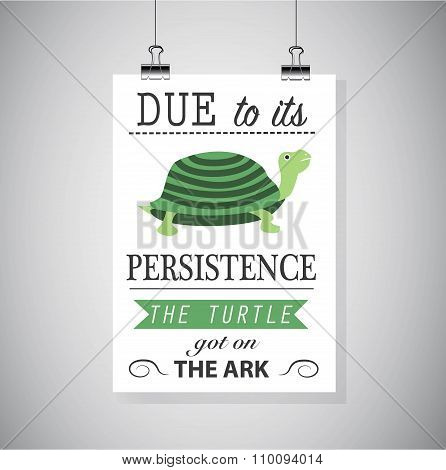 Persistence Motivation Picture.