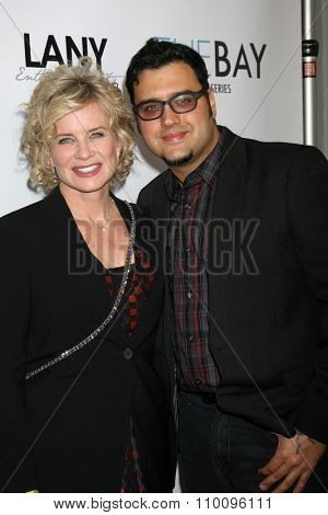 LOS ANGELES - NOV 30:  Mary Beth Evans, Gregori J. Martin at the Screening Of LANY Entertainment's