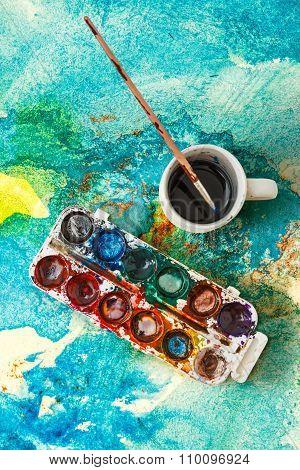 Watercolor Aquarell Paints