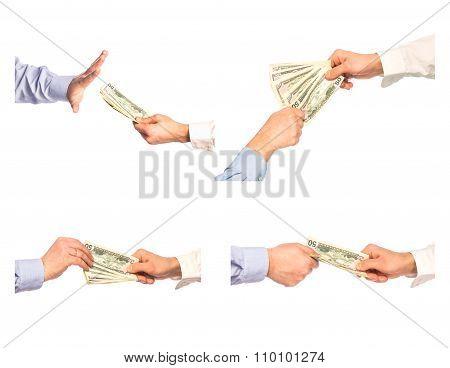 Transaction Took Place, Rejection Bribe, Set