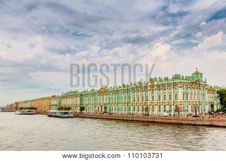 The State Hermitage Museum In Saint Petersburg