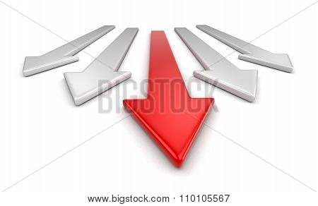3d Arrows  (clipping path included)