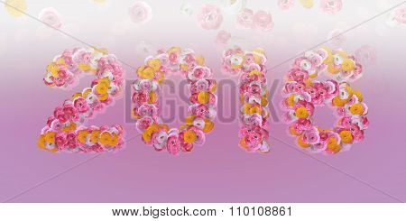 Floral Typo 2016