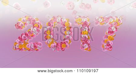 Floral Typo 2017