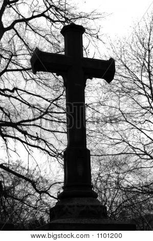 Cross At A Graveyard