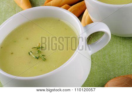 Cream Asparagus Soup
