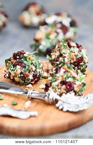 Cranberry Nut Cheese Ball