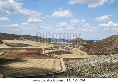 Molina De Aragon Landscape