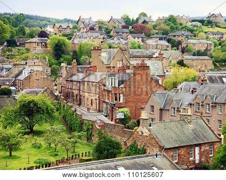Melrose  - small town  in the Scottish Borders, Scotland, United Kingdom