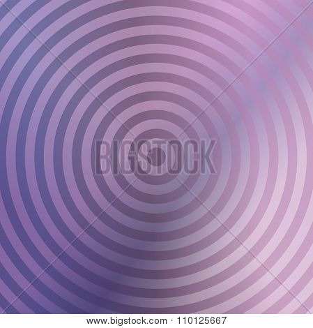 Metallic background design with concentric circles