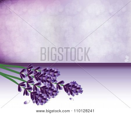 Lavender springs bouquet