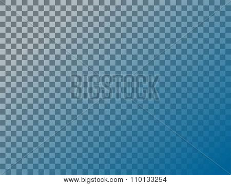 Square tile blue texture transparency grid background. Transparency grid for illustrations. Architecture transparency grid texture pattern. Transparency grid vector isolated. Transparency grid pattern