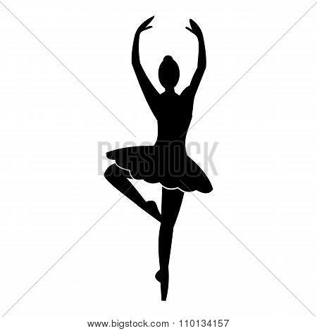 Ballerina simple icon
