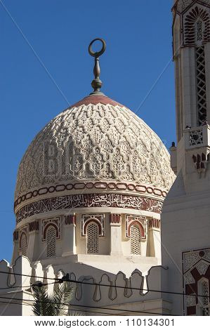 Dome of Abu El-Abbas El-Morsi Mosque, Alexandria, Egypt
