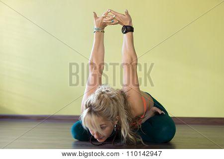 Variation Of Padmasana Posture