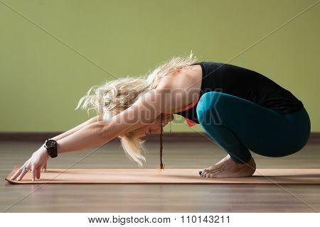 Garland Yoga Pose