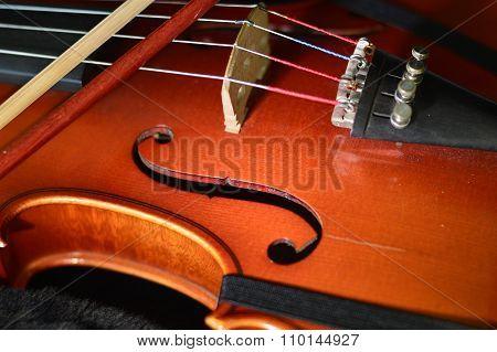 Violin Music Wooden Instrument.