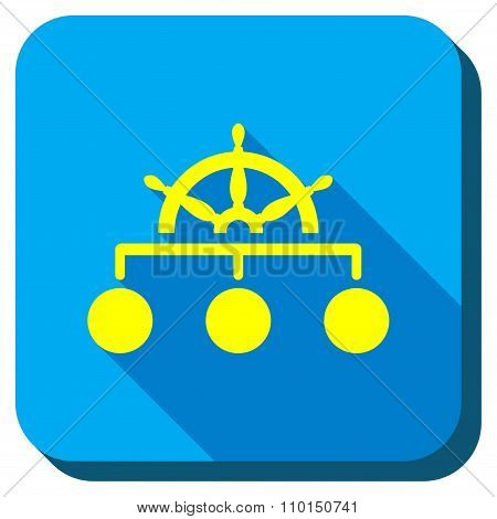 Management Steering Rule Longshadow Icon