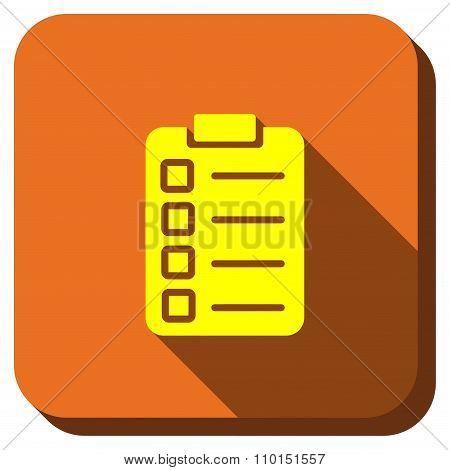 Test Form Longshadow Icon