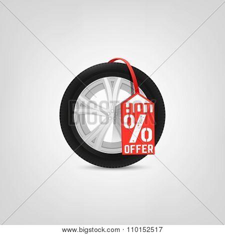 Tires vector Sale