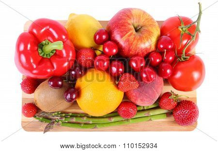 Fresh Fruits And Vegetables, Healthy Nutrition
