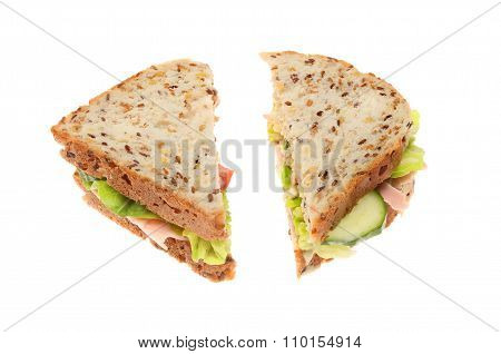 Soya And Linseed Sandwich