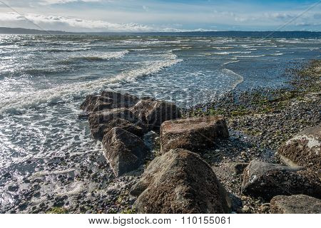 Windy Northwest Shoreline