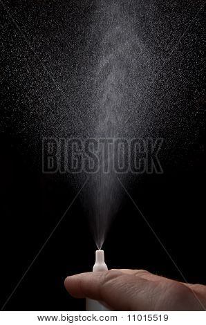 Nasal Spray Spraying