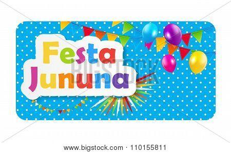 Festa Jinina Background Vector Illustration