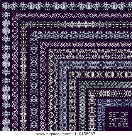 Intricate Pattern Brushes Set