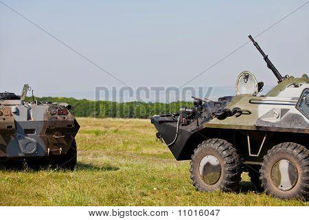 Assault machine