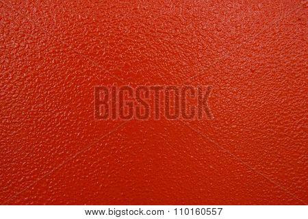 Closeup Of Uneven Surface Orange In Color