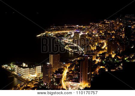 Scenic View From Top Of Monaco