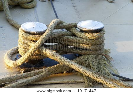 Old Style Tided Boat Rope