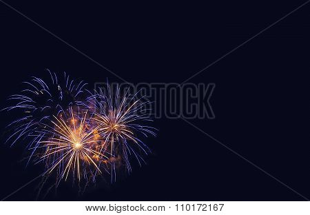 Fireworks Background.