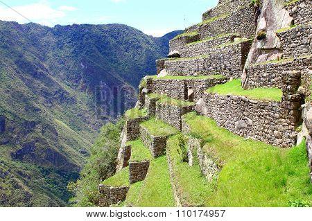 Machu Picchu, World's Wonder. Peru.