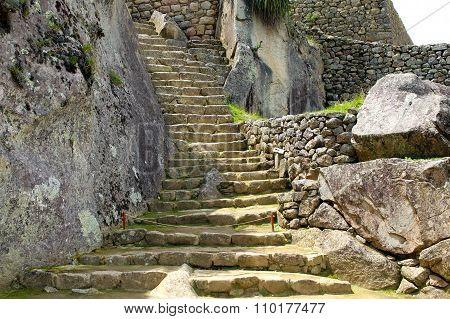 Machu Picchu Near Cuzco, Peru
