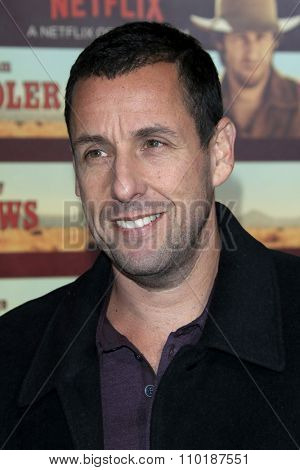 LOS ANGELES - NOV 30:  Adam Sandler at the