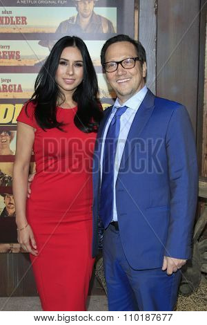 LOS ANGELES - NOV 30:  Patricia Azarcoya Schneider, Rob Schneider at the