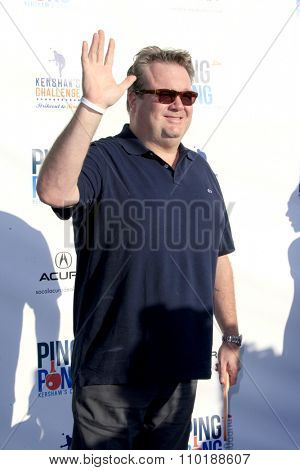 LOS ANGELES - JUL 30:  Eric Stonestreet at the Clayton Kershaw's 3rd Annual Ping Pong 4 Purpose at the Dodger Stadium on July 30, 2015in Los Angeles, CA