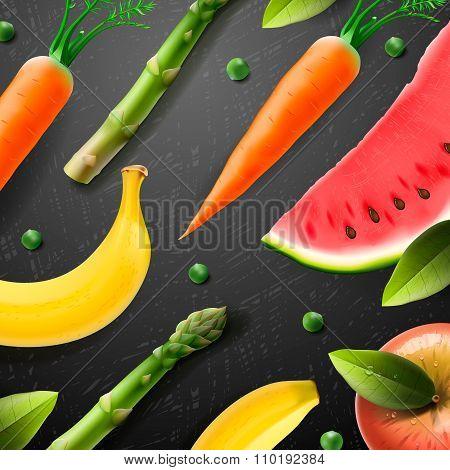 Vegetarian food pattern