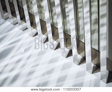 Interior Decoration Details Shining Shade And Shadow