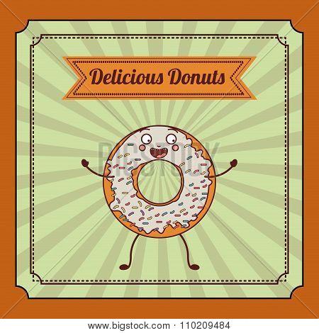 delicious donuts design